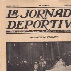 Coleccionismo deportivo: REVISTA JORNADA DEPORTIVA 12 ENERO 1923. Lote 32945231