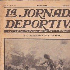 Coleccionismo deportivo: REVISTA JORNADA DEPORTIVA 12 MARZO 1923. Lote 32945356