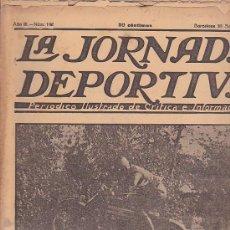 Coleccionismo deportivo: REVISTA JORNADA DEPORTIVA 28 SEPTIEMBRE 1923. Lote 32945460