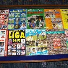Coleccionismo deportivo: MIS DON BALÓN EXTRA LIGA DE 1984 1985 HASTA 1995 1996 EURO 96 11 NºS NUEVOS REGALO TODO FÚTBOL 03 04. Lote 33050243