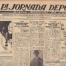 Coleccionismo deportivo: REVISTA LA JORNADA DEPORTIVA 16 DICIEMBRE 1924. Lote 33073278