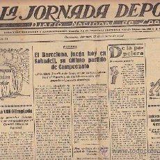 Coleccionismo deportivo: REVISTA LA JORNADA DEPORTIVA 17 FEBRERO 1924. Lote 33073528