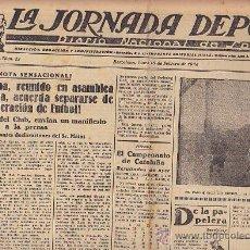 Coleccionismo deportivo: REVISTA LA JORNADA DEPORTIVA 18 FEBRERO 1924. Lote 33073544