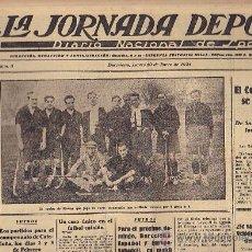 Coleccionismo deportivo: REVISTA LA JORNADA DEPORTIVA 10 ENERO 1924 HOCKEY . Lote 33073638