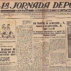 Coleccionismo deportivo: REVISTA LA JORNADA DEPORTIVA 15 FEBRERO 1924 . Lote 33074163