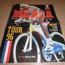 Coleccionismo deportivo: EXTRA ESPECIAL GUIA DE MARCA TOUR DE FRANCIA 96 AÑO 1996 EXTRA CICLISMO. Lote 26787931