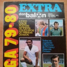 Collectionnisme sportif: EXTRA DON BALON GUIA LIGA 1979-1980 REAL MADRID BARCELONA ATLETICO ATHLETIC 79/80 SPANISH GUIDE. Lote 33306339