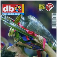 Coleccionismo deportivo: DB DON BALON EXTRA 137 F.C. BARCELONA CAMPEON UEFA CHAMPIONS LEAGUE 2011 WEMBLEY MESSI. Lote 114479832
