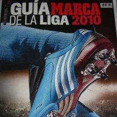 Collezionismo sportivo: GUIA MARCA DE LA LIGA 2010. Lote 33539307
