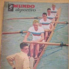 Coleccionismo deportivo: MUNDO DEPORTIVO Nº 186 - (NOV. 1952) - BILLAR/ FUTBOL/ BOXEO/ PESAS/ ESGRIMA Y OTROS - RARO!!. Lote 33583593