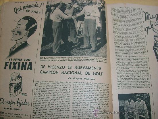 Coleccionismo deportivo: MUNDO DEPORTIVO Nº 186 - (NOV. 1952) - BILLAR/ FUTBOL/ BOXEO/ PESAS/ ESGRIMA y OTROS - RARO!! - Foto 4 - 33583593