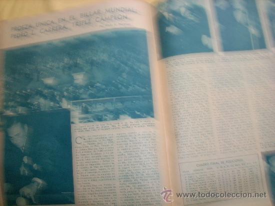 Coleccionismo deportivo: MUNDO DEPORTIVO Nº 186 - (NOV. 1952) - BILLAR/ FUTBOL/ BOXEO/ PESAS/ ESGRIMA y OTROS - RARO!! - Foto 6 - 33583593