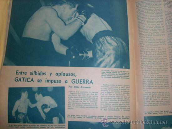 Coleccionismo deportivo: MUNDO DEPORTIVO Nº 186 - (NOV. 1952) - BILLAR/ FUTBOL/ BOXEO/ PESAS/ ESGRIMA y OTROS - RARO!! - Foto 7 - 33583593
