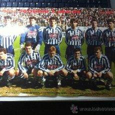 Coleccionismo deportivo: POSTER DON BALON. POSTER DE LA REAL SOCIEDAD 95/96. Lote 53071666