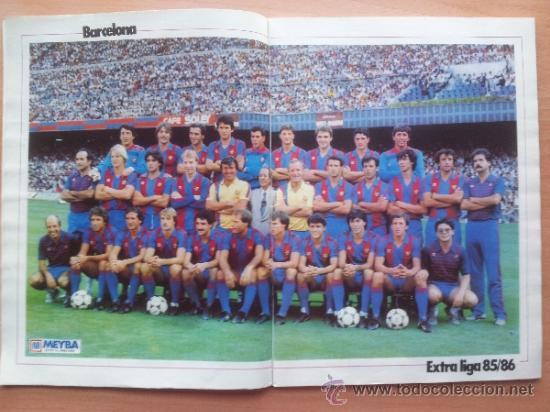 Coleccionismo deportivo: EXTRA DON BALON LIGA 85 - 86 - GUIA LIGA 1985-1986 - - Foto 2 - 33710392
