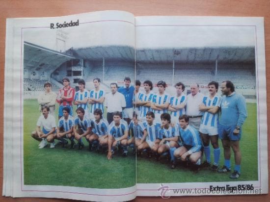 Coleccionismo deportivo: EXTRA DON BALON LIGA 85 - 86 - GUIA LIGA 1985-1986 - - Foto 7 - 33710392