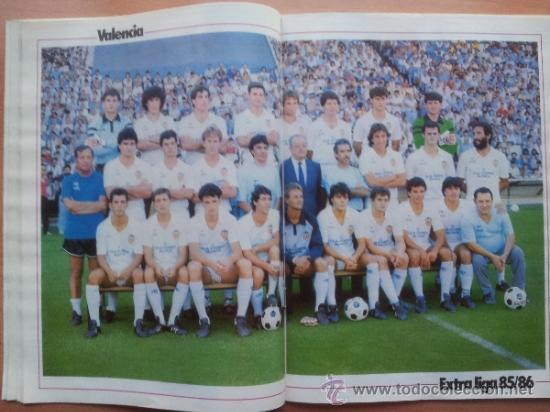 Coleccionismo deportivo: EXTRA DON BALON LIGA 85 - 86 - GUIA LIGA 1985-1986 - - Foto 8 - 33710392