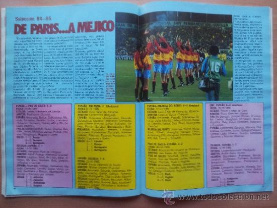 Coleccionismo deportivo: EXTRA DON BALON LIGA 85 - 86 - GUIA LIGA 1985-1986 - - Foto 12 - 33710392