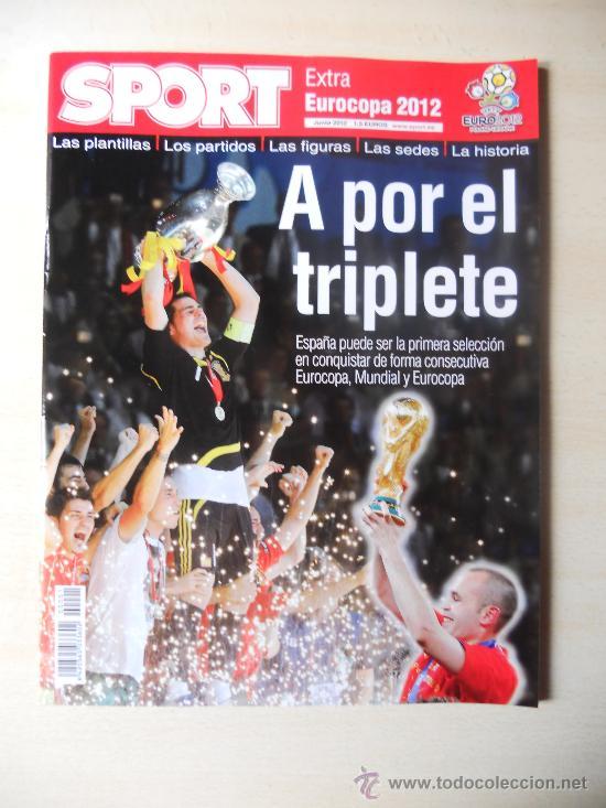 EXTRA EUROCOPA 2012 - REVISTA DIARIO SPORT (Coleccionismo Deportivo - Revistas y Periódicos - Sport)
