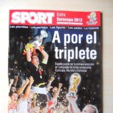 Coleccionismo deportivo: EXTRA EUROCOPA 2012 - REVISTA DIARIO SPORT. Lote 33720126