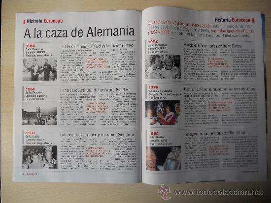 Coleccionismo deportivo: EXTRA EUROCOPA 2012 - REVISTA DIARIO SPORT - Foto 3 - 192400521