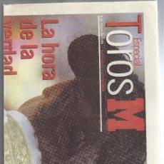 Coleccionismo deportivo: SUPLEMENTO ESPECIAL MARCA 8 MAYO 2004 - TOROS.. Lote 33749143