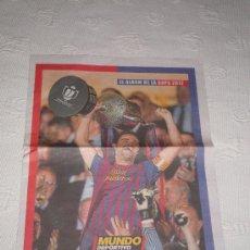 Collectionnisme sportif: MUNDO DEPORTIVO: ÁLBUM DE LA COPA DEL REY 2012 (EN PORTADA: XAVI HERNÁNDEZ) · 8 PÁGINAS. Lote 33774046