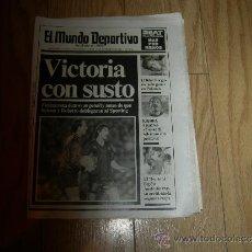 Coleccionismo deportivo: MUNDO DEPORTIVO - 27 NOVIEMBRE 1989. Lote 33826470