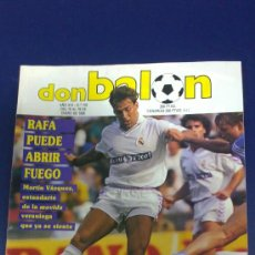 Coleccionismo deportivo: -REVISTA DON BALON - AÑO - 1990 - Nº 742 POSTER DE HIERRO- . Lote 33987323