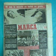 Coleccionismo deportivo: DIARIO MARCA AGOSTO 1947 MUERTE DE MANOLETE. Lote 34171092