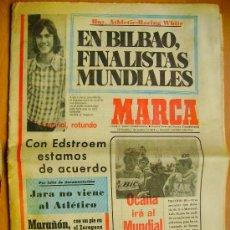 Coleccionismo deportivo: MARCA- 7/8/74-EL GRANDA-EL MALAGA-EL ATHLETIC-EL BARCELONA-EL TENERIFE-EL GIJÓN-. Lote 34332037