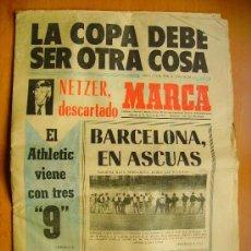 Coleccionismo deportivo: MARCA- 2/2/74-EL ESPAÑOL-EL BARCELONA-LAS PALMAS-VALENCIA. Lote 34332252
