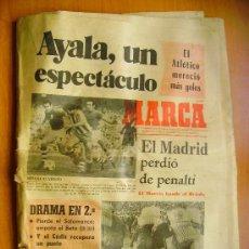 Coleccionismo deportivo: MARCA- 1/4/74-EL ATLÉTICO-EL GRANADA-LAS PALMAS. REAL MADRID-EL BARCELONA. Lote 34332276