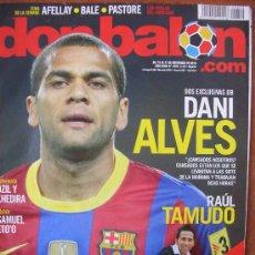Coleccionismo deportivo: DON BALON Nº 1829: DANI ALVES. Lote 34363303