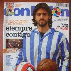 Coleccionismo deportivo: DON BALON Nº 1764: XABI ALONSO. Lote 34368114