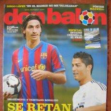 Coleccionismo deportivo: DON BALON Nº 1762: IBRAHIMOVIC Y CRISTIANO RONALDO SE RETAN. Lote 34368168