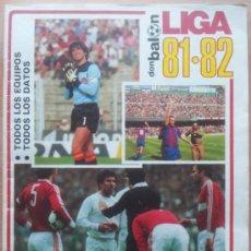 Coleccionismo deportivo: EXTRA DON BALON LIGA 81-82 - REVISTA ESPECIAL GUIA LIGA FUTBOL 1981/1982 - ARCONADA - JUANITO. Lote 34466044