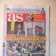 Coleccionismo deportivo: FC BARCELONA CAMPEON DE LIGA 2010/11- DIARIO AS 12 MAYO 2011 BARÇA. Lote 165714609