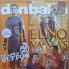 Coleccionismo deportivo: DON BALON FC BARCELONA MANCHESTER UNITED FINAL CHAMPIONS LEAGUE 2008/2009 BARÇA 08-09 - KAKA - . Lote 34522874