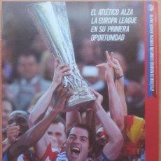Coleccionismo deportivo: SUPLEMENTO DON BALON ATLETICO DE MADRID CAMPEON EUROPA LEAGUE 2010 CUADERNILLO 09/10 POSTER -. Lote 57255060