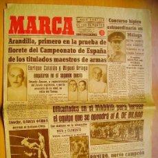 Coleccionismo deportivo: MARCA Nº 694 - 15/2/45 - REAL MADRID - EL BILBAO. Lote 34584576