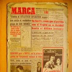Coleccionismo deportivo: MARCA Nº1246 - 24/11/46 - ATLÉTICO DE BILBAO - EL SEVILLA . Lote 34584592