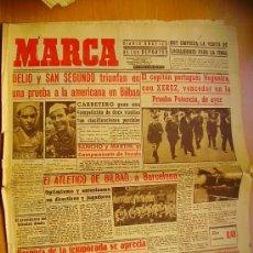 Coleccionismo deportivo: MARCA Nº801- 21/6/45-EL ATLÉTICO DE BILBAO-ATLETICO AVIACIÓN-EL VALENCIA- REAL MADRID- EL SEVILLA. Lote 34607982