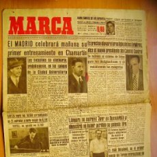 Coleccionismo deportivo: MARCA Nº 1164- 21/8/46-REAL MADRID-EL VALENCIA-FERIA EN BILBAO. Lote 34608002