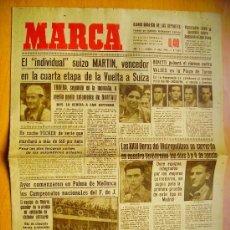 Coleccionismo deportivo: MARCA Nº1134- 17/7/46-CAMPEONATO DE TENIS DE VIZCAYA-FESTIVAL DEPORTIVO INSTITUTO NACIONAL DE MAR. Lote 34608049