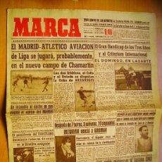 Coleccionismo deportivo: MARCA Nº1179- 7/9/46-EL MADRID- EL ATLÉTICO AVIACIÓN-EL BARCELONA-EL BETIS-FERIA EN CUENCA. Lote 34608068