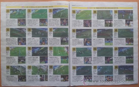 Coleccionismo deportivo: SUPLEMENTO ESPECIAL MUNDO DEPORTIVO POSTER MESSI RECORD DE GOLES AÑO 2012 - FC BARCELONA - BARÇA - Foto 4 - 117039722