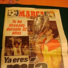 Collectionnisme sportif: REAL MADRID CAMPEON DE EUROPA. MARCA.. Lote 34917138