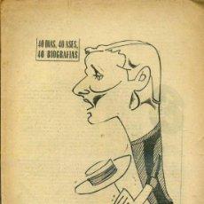 Coleccionismo deportivo: GALLEGO, EL AS DE PUERTO REAL (MARCA, 1966). Lote 35232390
