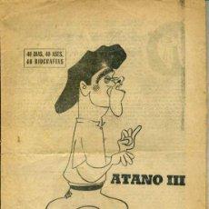 Collezionismo sportivo: ATANO III, EL CAMPEÓN DE LAS MANOS BLANDAS (MARCA, 1967). Lote 35232540